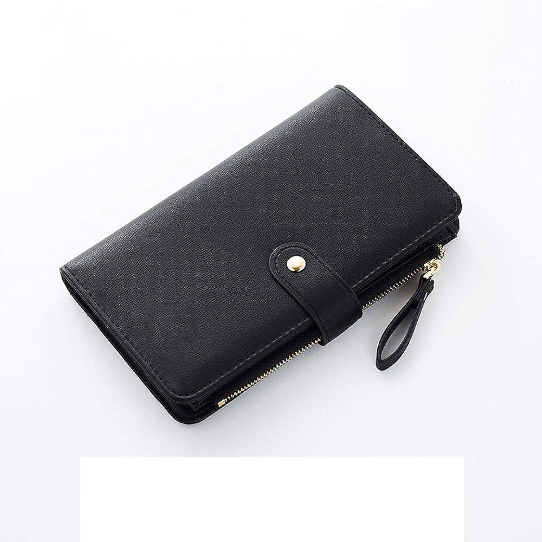 Girls Purse Women's Wallet,Ladies Wallet Zipper Big Capacity Hand Bag (color   D)
