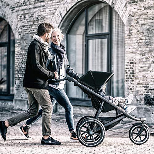 Thule 10101924 Urban Glide 2.0 Jogging Stroller (Dark Shadow/Silver Frame)