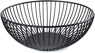 Martinimble Fruit Basket,Fruit Baskets for Kitchen,Fruit Baskets for Christmas,Vegetable Baskets for Kitchen,Fruit Holder Vegetable Basket Iron Wire Candy Biscuit Bowls Tray Kitchen Food Storage