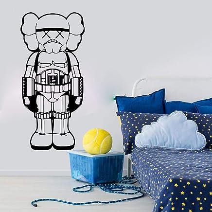 Large personnalisé star wars storm trooper enfants chambre autocollant mural decal