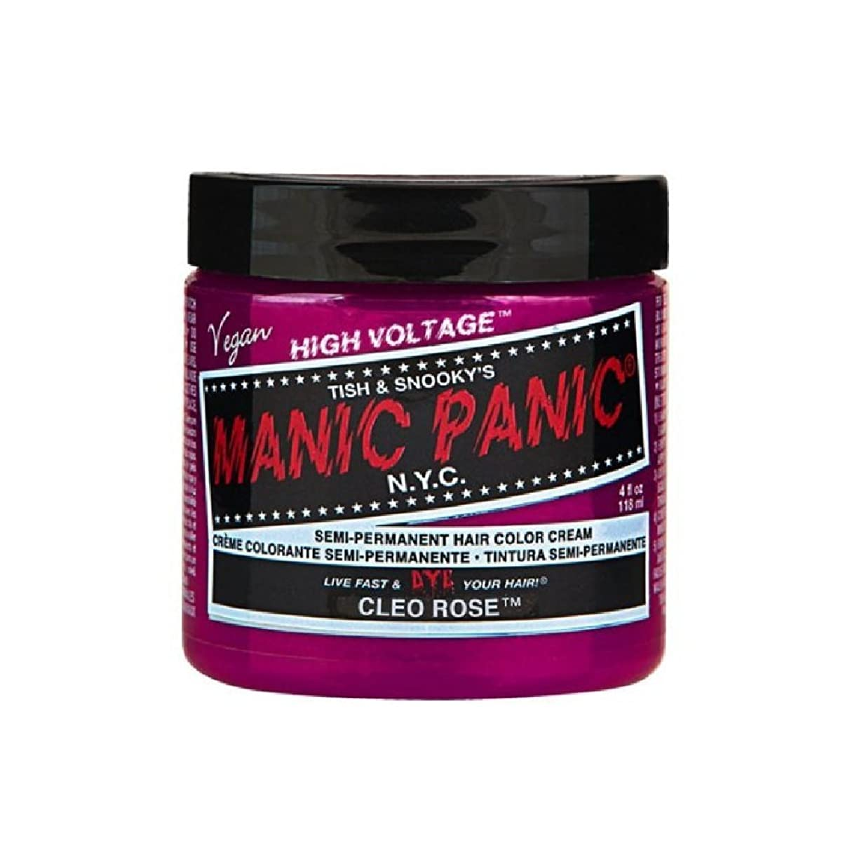 例母性はっきりしないMANIC PANIC マニックパニック 118ml Cleo Rose クレオローズ MC11046