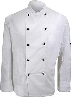 Denny's Mens Lightweight Long Sleeve Chefs Jacket/Chefswear