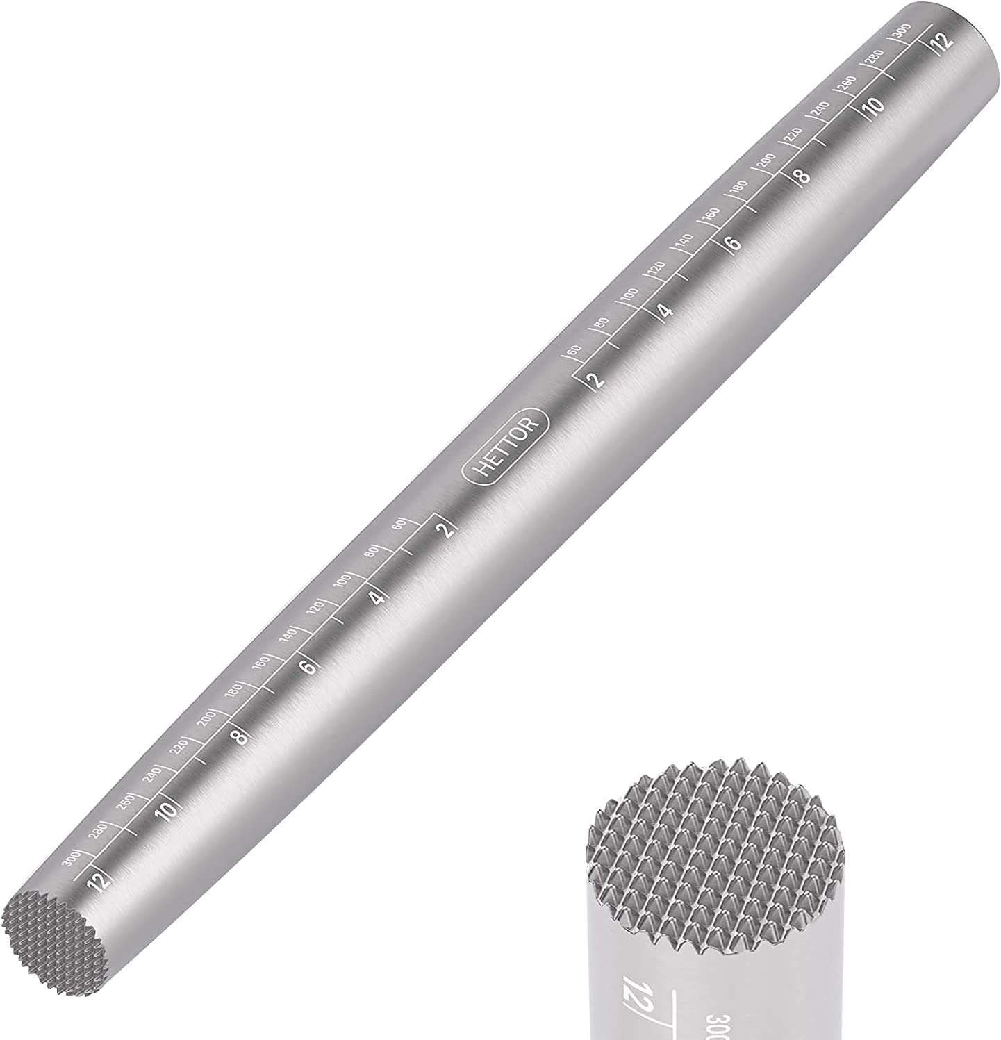 Rolling Pin Max 44% OFF French Stainless Steel Virginia Beach Mall for Baking with