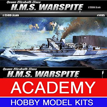 Academy Hobby Model Kits Scale Model   Battle Ships & Aircraft Carrier Kits  1/350 H.M.S WARSPITE