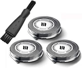 ODIN - Razor - 3xSH30/52 Shavers Replacement Heads for Norelco Series 3000 2000 1000 S5210 S5230 S5310 S5355 S301 S330 S11...