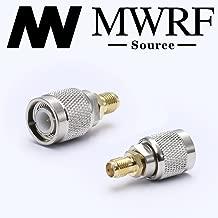 MWRF Source 2PCs SMA Female to TNC Male Adapter