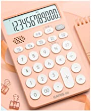 $27 » bjyx A Voice Calculator Suitable for Accounting Office Business and Family Use and A Dual-Power Calculator with Waterproof...