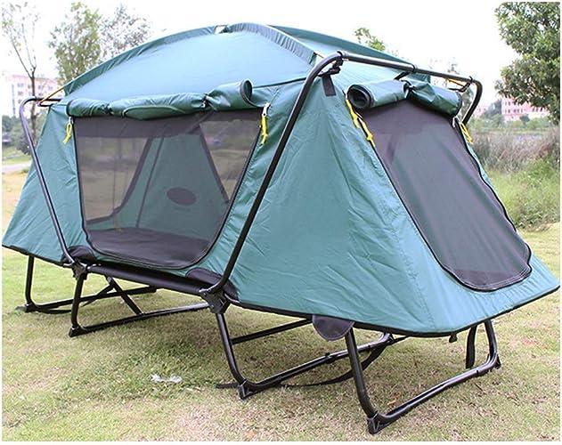 LIPENGXIANG Tente surdimensionnée Pliante en Plein air Camping Trekking lit