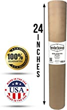"Brown Butcher Kraft Paper Roll - 24 "" x 175' (2100"") Food Wrapping Paper for Beef Briskets - USA Made - All Natural FDA Approved Food Grade BBQ Meat Smoking Paper - Unbleached Unwaxed Uncoated Sheet"