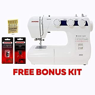 Janome 2222 Sewing Machine with Kit