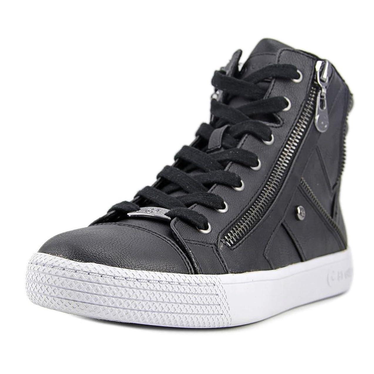 ウガンダ後者ラブG by Guess Womens MAKER Fashion Sneaker, Black, Size 6
