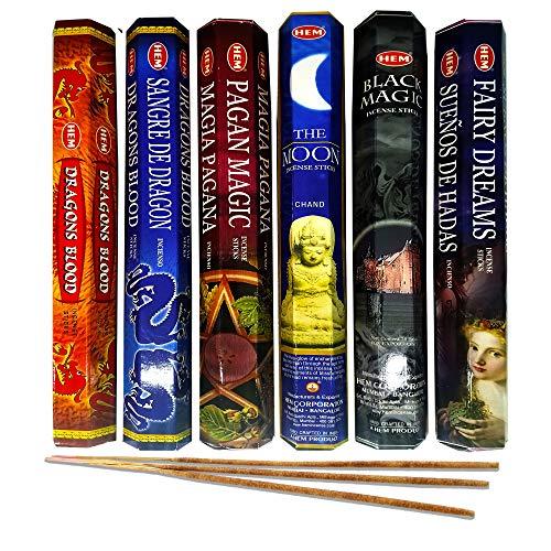 AurAmbiance Pagan Magic Incense Sticks Set;...