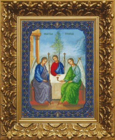 Beadwork kit Charivna mit #B-1039 The of Icon the Holy Max 42% OFF 2 Trinity 2021 new