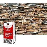 GREAT ART Foto Mural Pared de Piedras de Laja Poster Muro Optica Piedra 210 x 140 cm - Papel Pintado 5 Piezas incluye Pasta para pegar