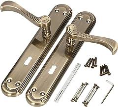 KOTARBAU Deurkruk 72 mm BB deurkruk deurbeslag deurkruk lange plaat deurkrukgarnituur binnendeur buitendeur handvat deurbe...