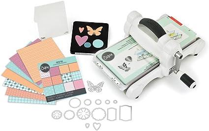Sizzix Big Shot Starter Kit Manual Die Cutting & Embossing Machine