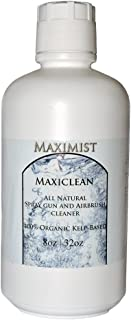 MaxiClean Organic, Natural Airbrush Spray Tanning Spray Gun Cleaner 32 oz