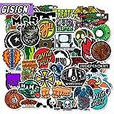 DUOYOU Skateboard Anime Pegatinas Para Niños Guitarras Latas Portátil Sticker Pack Set Motocicleta Maleta Impermeable Pegatinas Vsco 50pcs