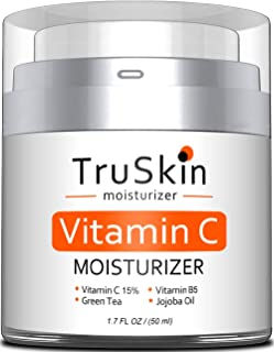 Sponsored Ad - TruSkin Vitamin C Moisturizer Face, Neck & Décolleté Cream for All Skin Types with Vitamin B5 and Green Tea...