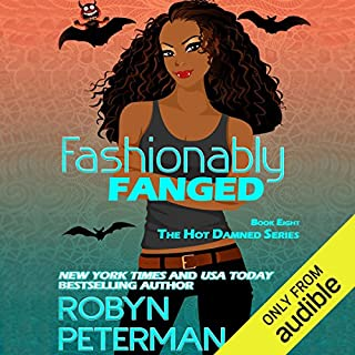 Fashionably Fanged audiobook cover art