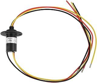 Mini anillo colector eléctrico, anillo colector de energía eólica 250Rpm 600 VDC/VAC del generador de viento de 3 cables