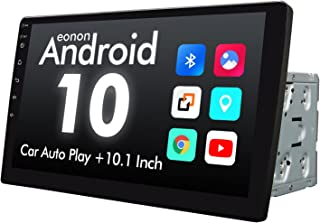 2021 Summer Newest Double Din Car Stereo, Android 10 Radio with Bluetooth 4.0, Eonon 10.1 Inch Car Radio with IPS Screen C... photo