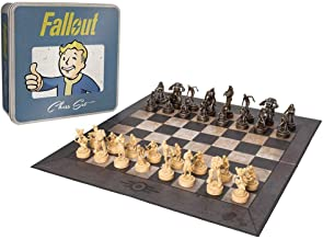 Fallout Chess | Based on the Popular Fallout 4 Game by Bethesda | Custom Sculpt Pieces Featuring Characters from Fallout |...