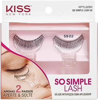 Cílios So Simple Lash 02, Kiss New York