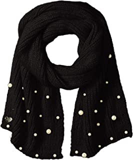 betsey johnson pearl scarf