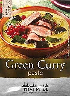 2x 50g  THAI PRIDE Grüne Currypaste  würzig  EXOTIC FOOD G