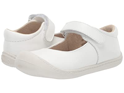 FootMates Stacy (Infant/Toddler) (White Nappa) Girl