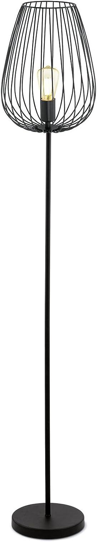 EGLO 49474 Newtown Standleuchte, stahl, schwarz