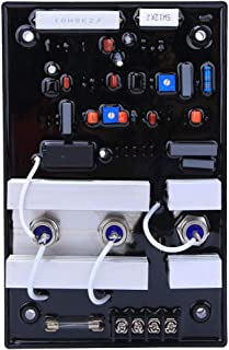 Regulador de voltaje del generador AVR, regulador de voltaje GAVR-35A monofásico de 2 cables, regulador automático del generador sin escobillas, para grupo electrógeno sin escobillas diesel
