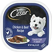 Cesar Classics Adult Wet Dog Food 3.5 Oz Poultry Trays
