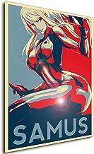 Instabuy Poster - Propaganda - Metroid - Samus Aran Variant 2 Manifesto 70x50