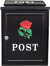 Mailbox Met Lock Postbus Brievenbus Outdoor Regenwater Villa Muur Opknoping Creatieve Brievenbus (Kleur: E)