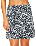 Oyamiki Women's Active Athletic Skort Lightweight Tennis Skirt Perfect for Running Training Sports Golf