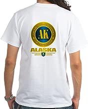 CafePress Alaska White T-Shirt 100% Cotton T-Shirt, White