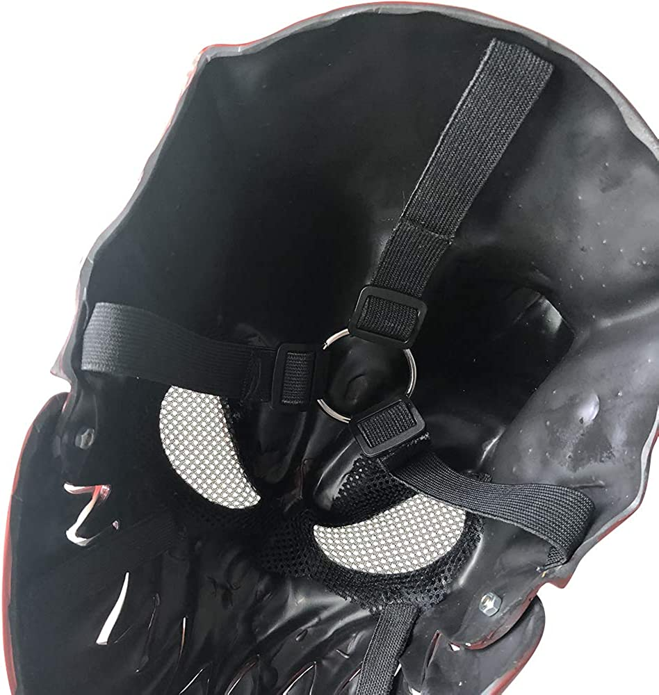 Slaughter to Prevail Mask Demon Deathcore Band Mask of Demolisher Cosplay Prop