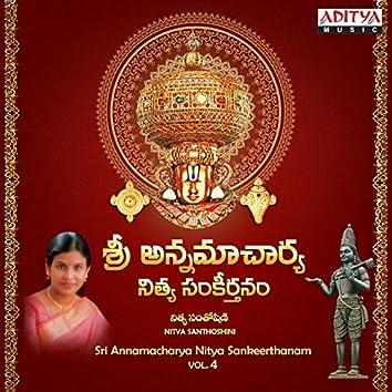 Sri Annamacharya Nitya Sankeerthanam, Vol. 4