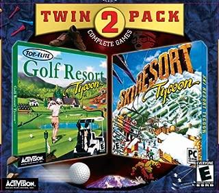 Ski Resort Tycoon / Golf Resort Tycoon (Jewel Case) - PC