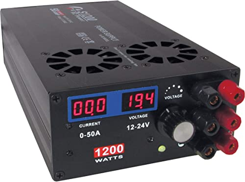 CHARGERY S1200 1200W 12-24,5V DC, 50A, 90-265V AC, SCHALT-NETZGER