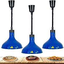 HHORB Lampe Chauffante pour Aliments, Lampe Suspendue pour Chauffe-Plats Commerciale Adaptée À La Nourriture D'isolation F...