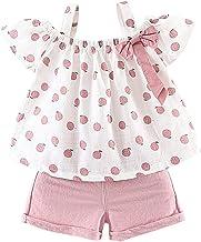 کودکان و نوجوانان کودک نو پا لباس Ruffle Cami مخزن توری سفید توری مخمل بالا راه راه شلوار کوتاه تابستانی لباس برای دختران بچه ها