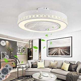 Ventilador de Techo con Luz y Control Remoto, Luz de Ventilador de Techo Moderna Regulable de 72 Vatios, Velocidad del Viento Ajustable, Luces de Ventilador de Techo para Dormitorio Cocina Sala de Est