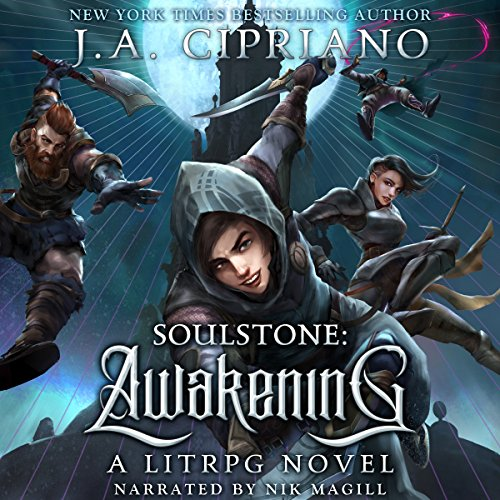 Couverture de Soulstone: Awakening: A LitRPG Novel