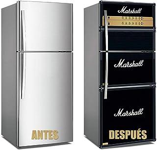 Oedim Vinilo para Frigorífico Marshall 185x60cm | Adhesivo Resistente y Económico | Pegatina Adhesiva Decorativa de Diseño Elegante