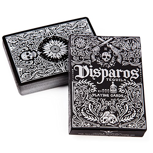 Disparos Tequila Playing Cards by Ellusionist - Prohibition Series