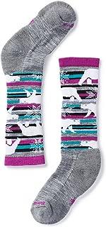 Smartwool Kids' Wintersport Polar Bear Sock - Merino Wool Over-the-Calf Sock for Boys and Girls