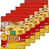 マルちゃん 素材のチカラ トマたまスープ 5食パック 30g ×6個